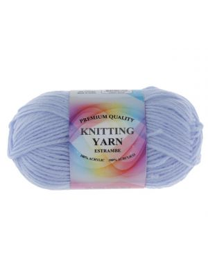 LIGHT BLUE ACRYLIC YARN