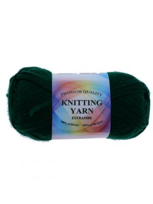 CYPRESS DARK GREEN ACRYLIC YARN