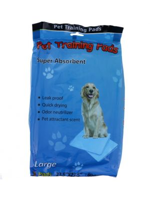 PET TRAINING PADS LARGE 3 PACK