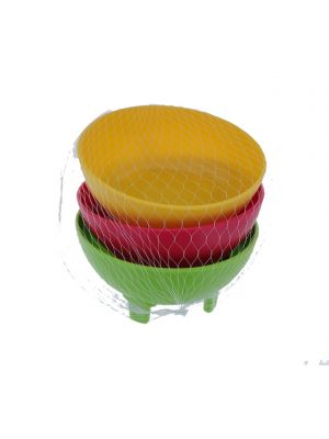 SALSA BOWL 3 PACK ASSORTED