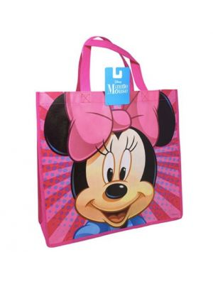 MINNIE MOUSE LARGE ECO FRIENDLY NON WOVEN TOTE BAG
