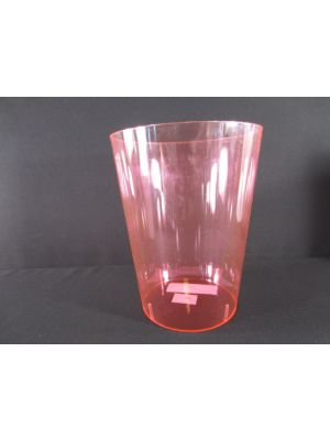 PLASTIC BUCKET PINK 7IN
