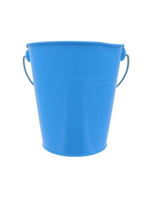 BLUE TIN METAL BUCKET