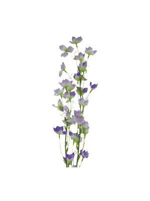 ARTIFICIAL ABUTILON PICTUM FLOWER 37 INCH LAVENDER