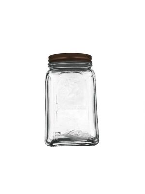 GLASS JAR W LID