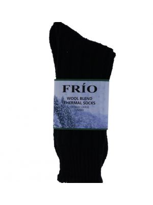 BLACK THERMAL SOCKS