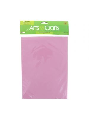ADHESIVE FOAM SHEETS PINK 8 INCH X 12 INCH