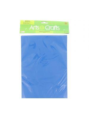 ADHESIVE FOAM SHEETS BLUE 8 INCH X 12 INCH