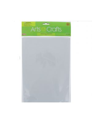 ADHESIVE FOAM SHEETS WHITE 8 INCH X 12 INCH