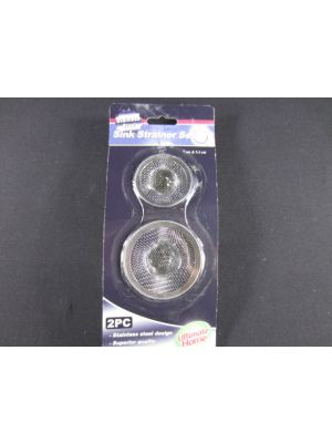 Stainless Steel Sink Strainer 2 Count