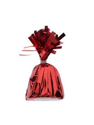 RED METALLIC BALLOON WEIGHT