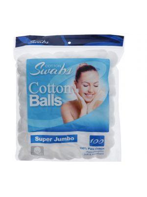 JUMBO COTTON BALLS 100 CT