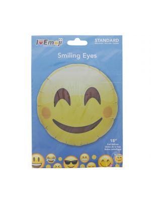 EMOJI SMILING EYES FACE BALLOON