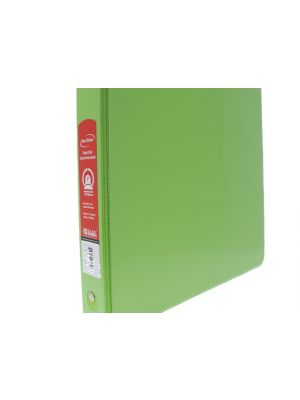 BINDER 1 IN LIME GREEN