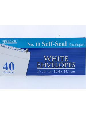 White Envelope 10IN