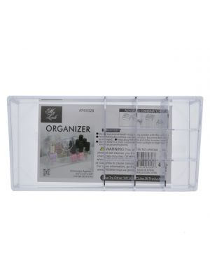 TEMPURED PLASTIC 10 SECTION ORGANIZER