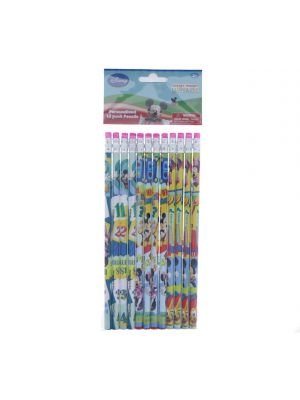 MICKEY MOUSE CLUBHOUSE PENCILS PACK OF 12