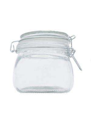 GLASS CANISTER 500ML