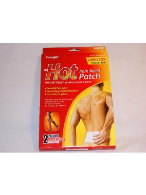 Pure Aid Pain Relief Patch 2 Count