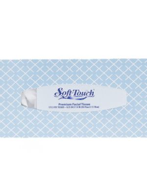 FACIAL SOFT TISSUE 7X8IN 175CT  50