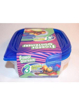 EZ Square Food Container 25 Oz