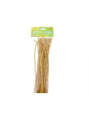 Gold Colored Pipe Cleaners Chenille Stems