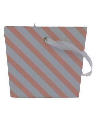 PINK AND WHITE STRIPE TREAT BOX