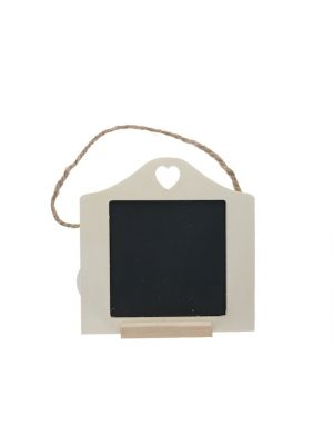 CHALK BOARD FRAME WITH HEART
