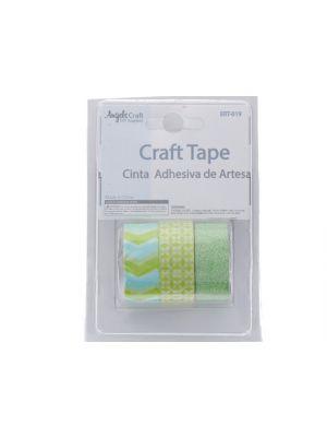 Crafting Tape-Green White  XXX