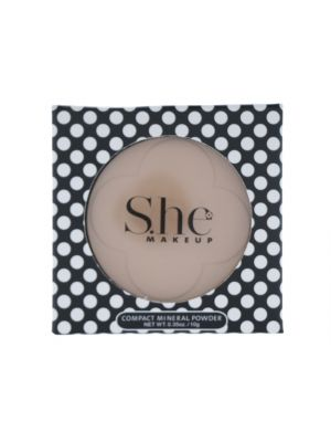 SHE COSMETICS PRESS POWDER LIGHT HONEY