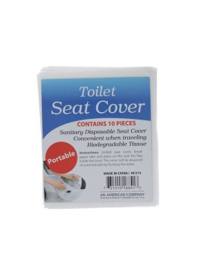 TOILET SEAT COVERS 10PC