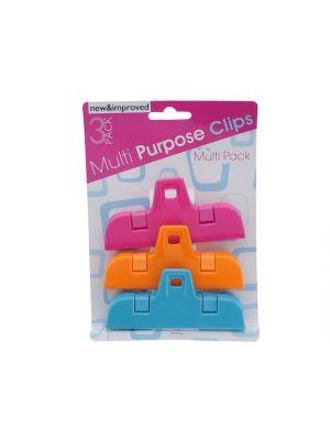 MULTI PURPOSE CLIPS 3PK