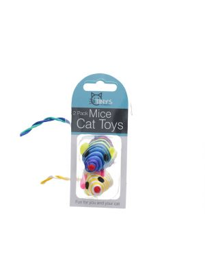 Striped Mice Cat Toys Set