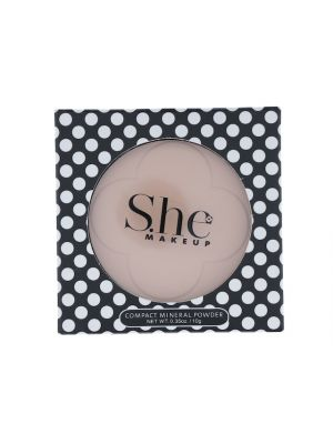 SHE COSMETICS PRESS POWDER BISQUE
