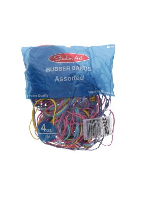 RUBBER BANDS ASST BANDS AND COLOR