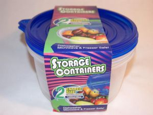 EZ Round Food Container 48 Oz