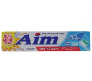 AIM ULTRA MINT TOOTHPASTE