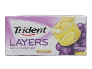TIDENT LAYER GUM GRAPE AND LEMONADEXXX AMAZON