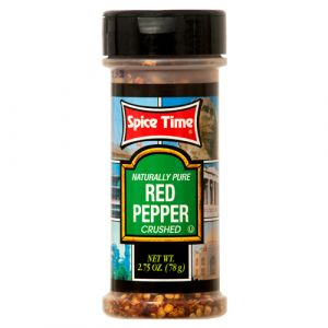CRUSHED RED PEPPER 2.75Z SPICETIME