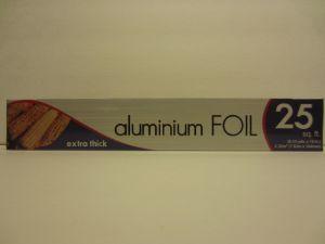 ALUMINIUM FOIL 25 SQ.FT
