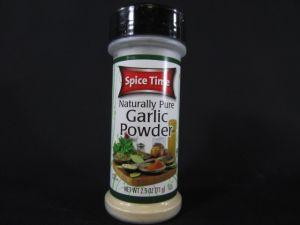 GARLIC POWDER 2.5Z SPICETIME
