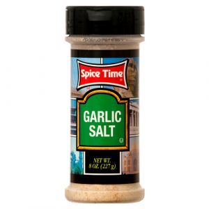 GARLIC SALT 8Z SPICETIME