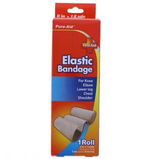 ELASTIC BANDAGE 6 INCH X 1.6 YARDS
