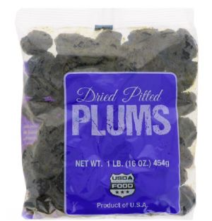 DRIED PITTED PRUNS