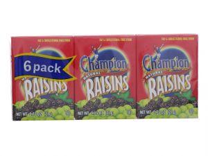 CHAMPION NATURAL RAISINS