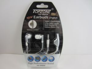 EARPHONE WITH VOLUME CONTROLLER