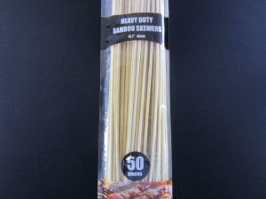 BAMBOO SKEWERS 50PC
