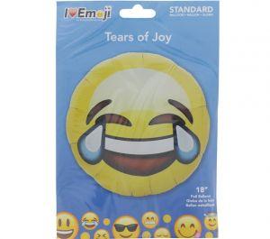 EMOJI TEARS OF JOY FACE BALLOON