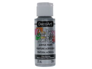 SILVER MORNING CRAFT ACRYLIC PAINT