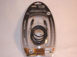 184 STEREO PLUG 3.5MM 6FT